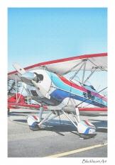 Bi plane at Bracket field