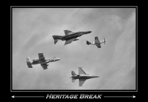 Heritage flight - Break