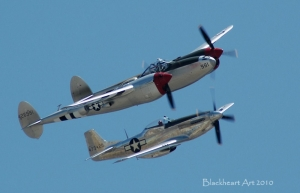 P-38 and P-51