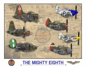 Mighty Eighth Poster