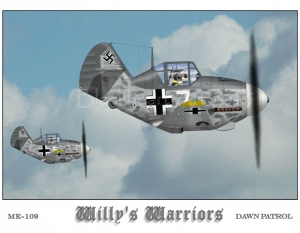 "Me109 ""Willy's Warriors"""