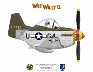 """North American P-51D """"Wee Willy II"""""""