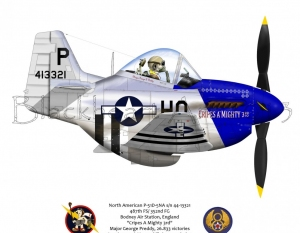 "North American P-51D ""Cripes a Mighty 3rd"""