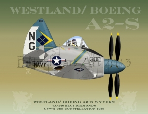 Westland /Boeing  Wyvern, USS Constellation