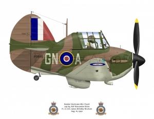 Hawker Hurricane Mk1 249 Sq