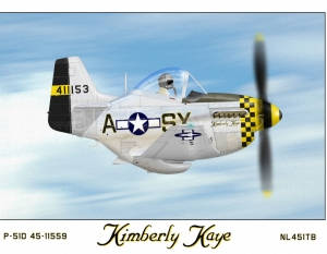 """P-51D """"Kimberly Kaye"""""""