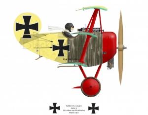 Luthar Richthofen DR1
