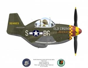 "North American P-51B ""Old Crow"" 357thFG"