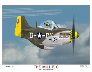 "P51D 55thFG ""The Millie G"""