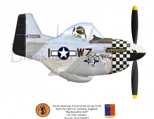 "North American P-51D ""Big Beautiful Doll"" 78th FG"