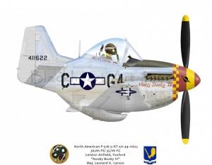 "North American P-51K ""Nooky Booky IV"" 357th FG"