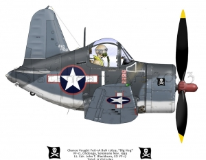 Chance Vought F-4U Blackburn, CO