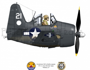"Grumman F6F-3 ""White 21"""