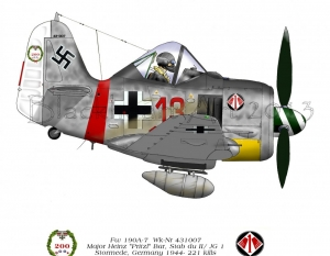 FW190A-7 Stormede, Germany