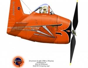 """Grumman G-58A """"Gulfhawk 4"""""""
