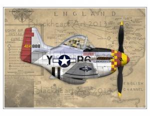 "Mustang P-51D ""Glamorous Glen III"""