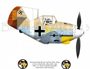 Messerschmitt Bf 109 Martuba, Libya