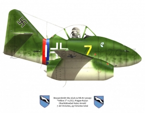 "Messerschmitt Me-262A ""Yellow 7"""