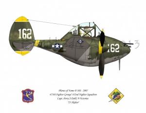 """P38-J """"23 Skidoo"""""""