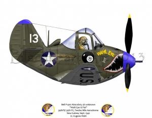"""Bell P-400 """"Wahl Eye II /Pat"""""""