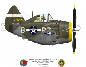 "Republic P-47D ""Fascinatin Fanny"""