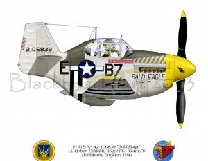 "P-51B ""Bald Eagle"""