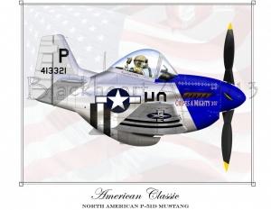 "North American P-51D ""American Classic"""