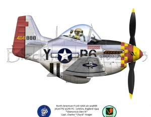"North American P-51D ""Glamorous Glen III"""
