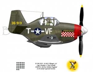 "P-51B ""Shangri-La"""