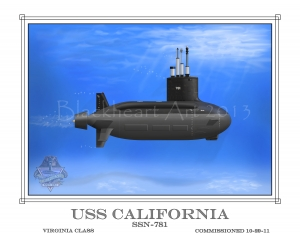 USS California, Virginia Class,