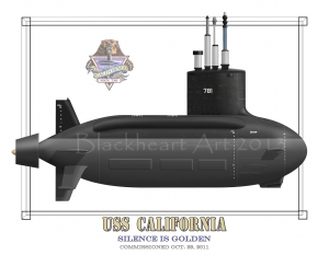USS California SSN 781