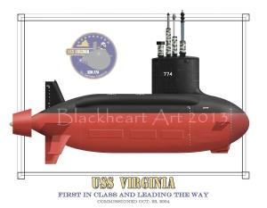 USS Virginia SSN774
