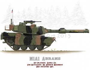 M1A1 Abrams Euro Scheme