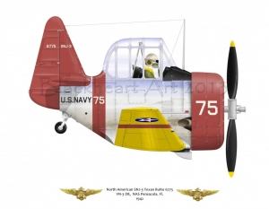 North American SNJ-3