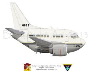 Boeing C-40B