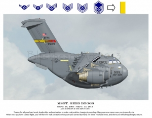 C17 Custom march AFB