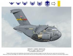 C17 Custom march AFB