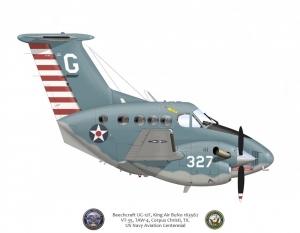 UC-12F WWII Scheme