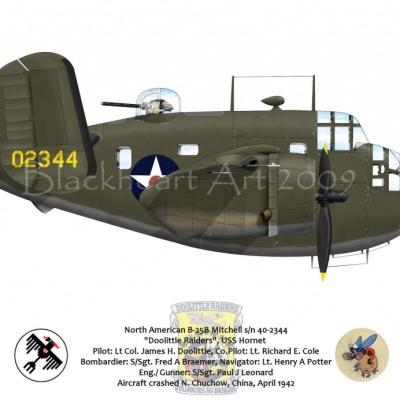 North American B-25B