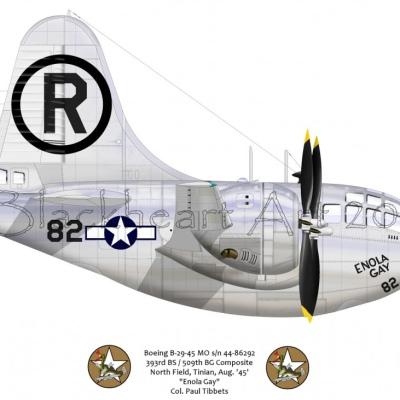 """Boeing B-29 """"Enola Gay"""""""