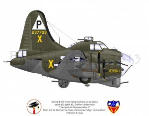 "B-17G ""The Spirit of Winsome Winn II"""