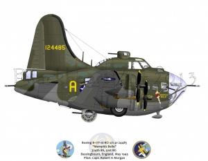"Boeing B-17F ""Memphis Belle"""