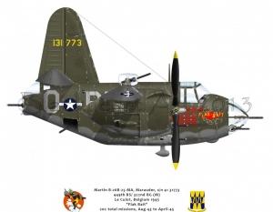"""Martin B-26B """"Flak Bait"""""""