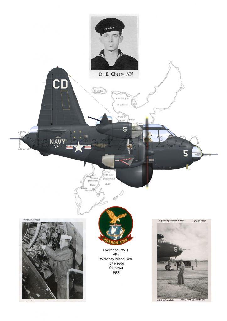 D.E.Cherry AN US Navy ret. P2V-5 Neptune